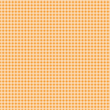 Dots_Light_Orange-Pumpkin fabric by animotaxis on Spoonflower - custom fabric