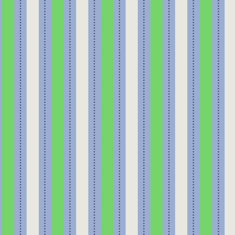 Green Blue Stripe fabric by countrygarden on Spoonflower - custom fabric