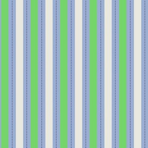 Green Blue Stripe