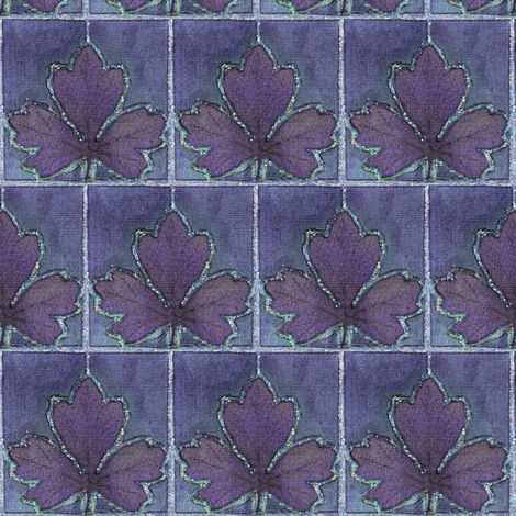 Dyepaint_leaf_crop_mauve-BLUEVIOLET fabric by mina on Spoonflower - custom fabric