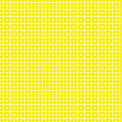 Dots_Dark_Yellow fabric by animotaxis on Spoonflower - custom fabric