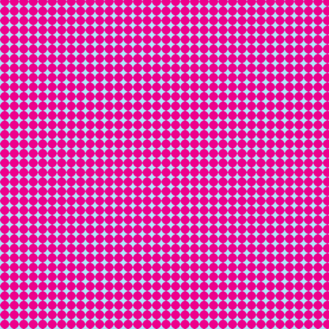 Dots_Magenta-Blue fabric by animotaxis on Spoonflower - custom fabric