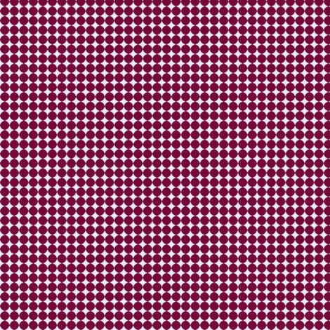 Dots_Wine-Lilac fabric by animotaxis on Spoonflower - custom fabric
