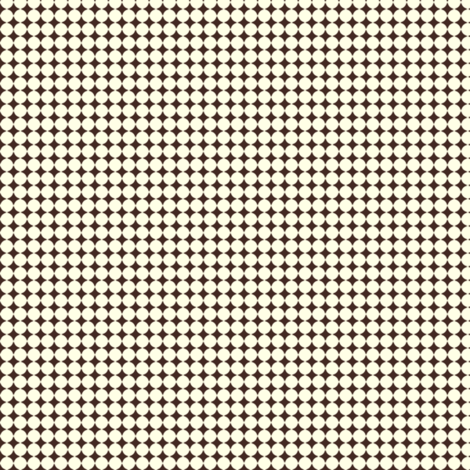 Dots_Cream-Brown fabric by animotaxis on Spoonflower - custom fabric