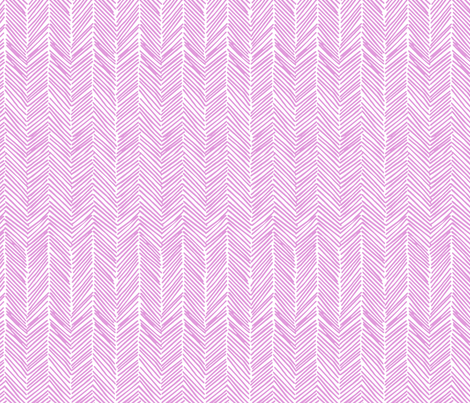 Freeform Arrows in orchid fabric by domesticate on Spoonflower - custom fabric