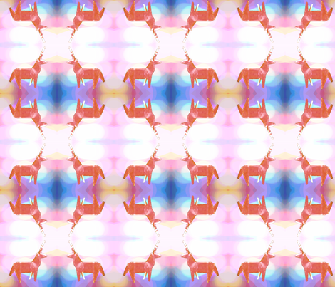 Unicorn Horn fabric by robynkufaas on Spoonflower - custom fabric