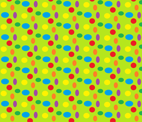 Ice Cream Party Theme - Dots fabric by tylerstrain on Spoonflower - custom fabric