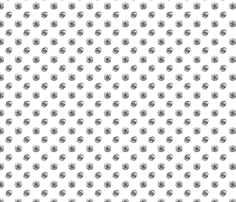Rosy Dot fabric by twobloom on Spoonflower - custom fabric