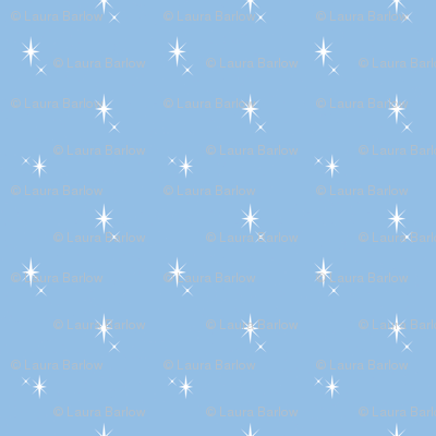 Baby Boy Blue Antarctic Snowflake pattern 1