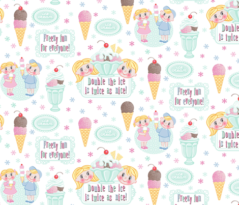 freezy_fifties_fun fabric by cjldesigns on Spoonflower - custom fabric