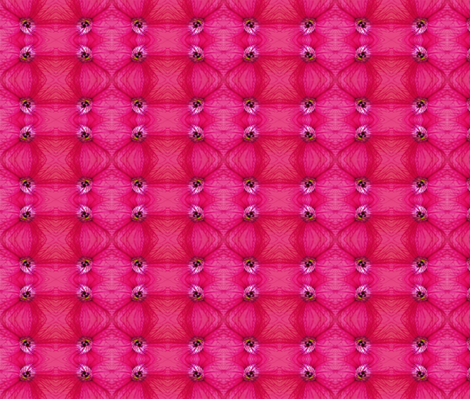 Pink Flower With Vains fabric by fayebeasintx on Spoonflower - custom fabric