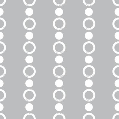 Baby Boy Antarctic dot pattern gray