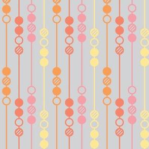 Mot Dot - Orange Beads
