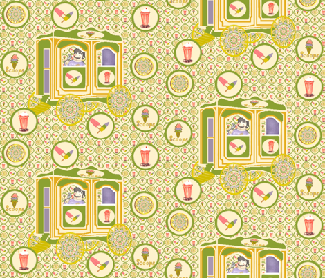 In the Good Ole Summertime fabric by kaerushisho on Spoonflower - custom fabric