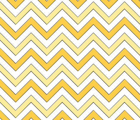 Sunny Chevron III fabric by pond_ripple on Spoonflower - custom fabric