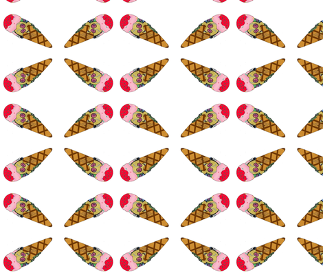 ice_cream_1 fabric by curvygirl91 on Spoonflower - custom fabric