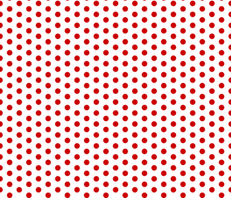 Cherry Dot fabric by modgeek on Spoonflower - custom fabric