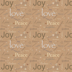 Love, Joy, Peace