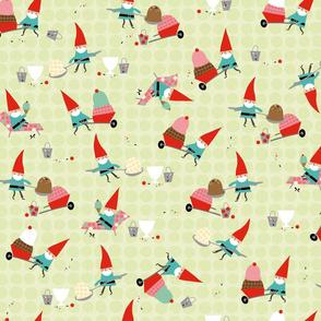 Gnomes Diggin' Ice Cream