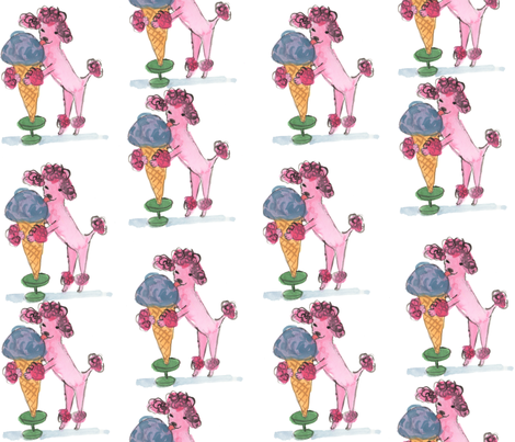 poodle_sweets fabric by cinqchats on Spoonflower - custom fabric