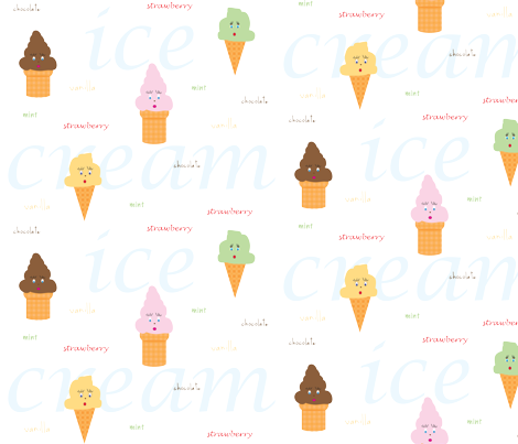 what_s_your_flavor fabric by bumble_bee on Spoonflower - custom fabric