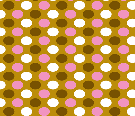 Scoop Dot fabric by modgeek on Spoonflower - custom fabric