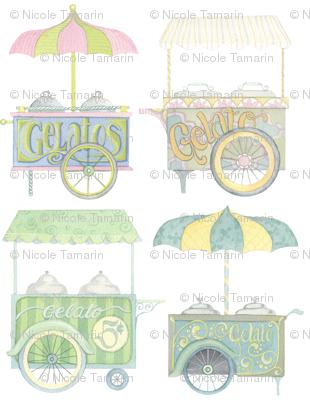 Gelato Carts