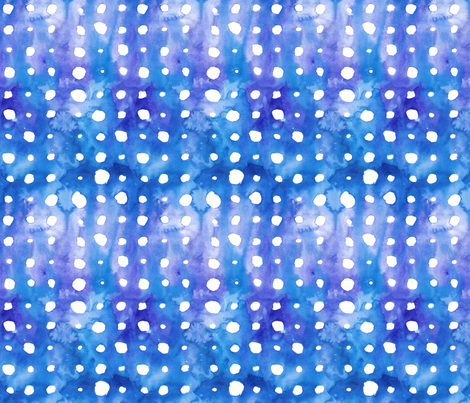 Dots on Blue and Purple fabric by fussypants on Spoonflower - custom fabric
