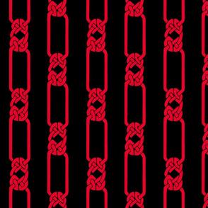 open border-1 red on black