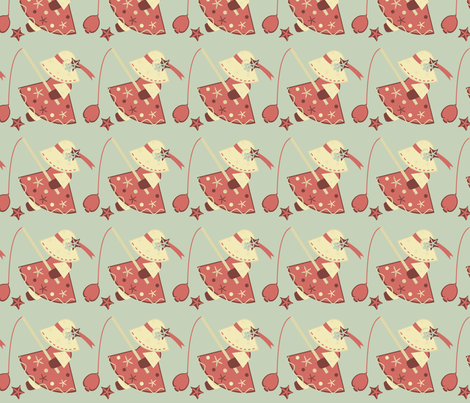 Nannette At Sea fabric by eppiepeppercorn on Spoonflower - custom fabric
