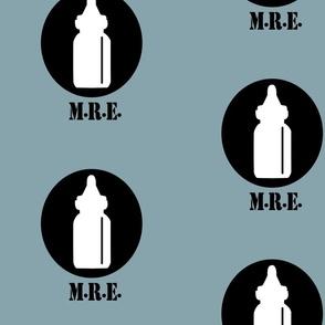 MRE Blues, Military Baby Bottle