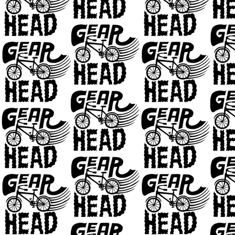 Gear Head fabric by andibird on Spoonflower - custom fabric