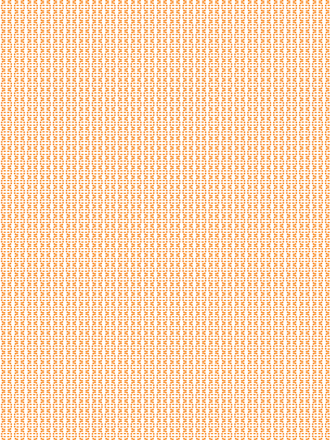 Orange pieces fabric by ldunne on Spoonflower - custom fabric