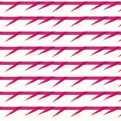 Barbed pink stripes by Su_G