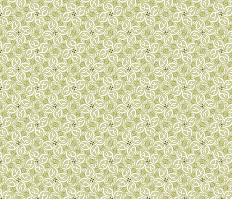 © 2011 floralfiesta-dune fabric by glimmericks on Spoonflower - custom fabric