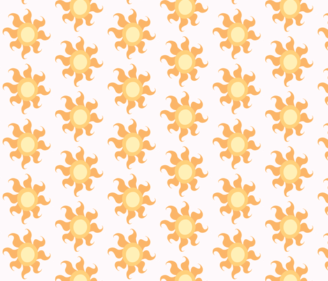 Celestia fabric by fabric_brony on Spoonflower - custom fabric