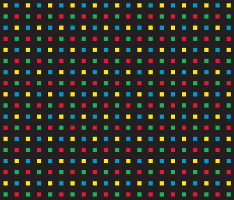 Gamer Dot 3 fabric by modgeek on Spoonflower - custom fabric