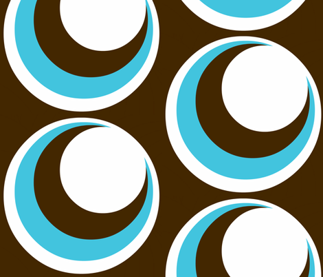 Urban loft / circles fabric by paragonstudios on Spoonflower - custom fabric