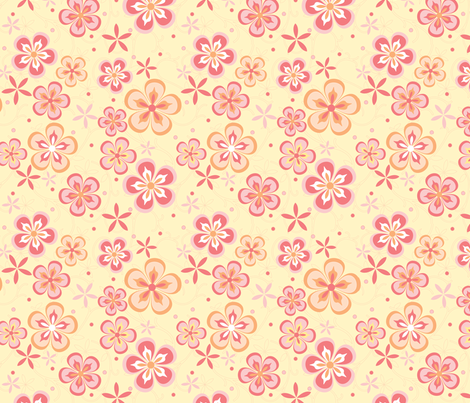 Citrus Garden fabric by aimeemarie on Spoonflower - custom fabric