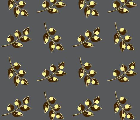 Urban steel /  flo fabric by paragonstudios on Spoonflower - custom fabric
