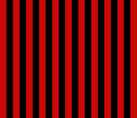 Red and Black Stripe fabric by jsdesigns on Spoonflower - custom fabric
