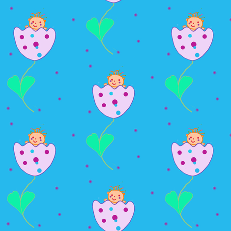 Thumbelina fabric by tgsn on Spoonflower - custom fabric
