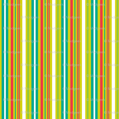 Pop Bot Stripe Yellow