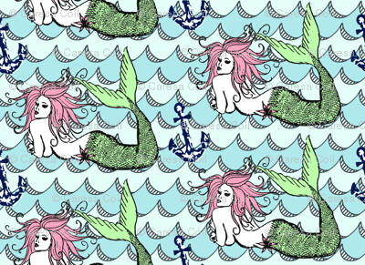 Mermaid Folk Tale