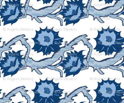 Blue Briar Patch Flowers