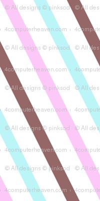 Popbi! - Brightbluesky - Diagonal Striped - © PinkSodaPop 4ComputerHeaven.com