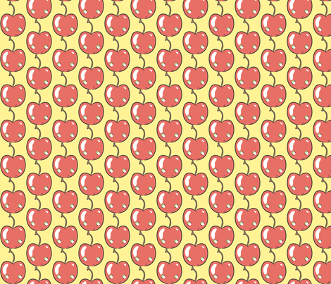 Banana split fabric by majobv on Spoonflower - custom fabric