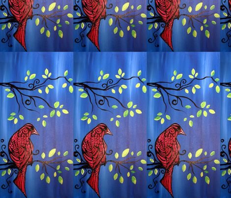 Scarlet fabric by heatherpeterman on Spoonflower - custom fabric