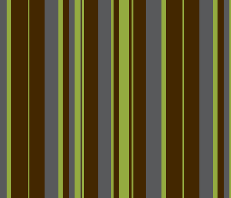 Urban green / stripe fabric by paragonstudios on Spoonflower - custom fabric