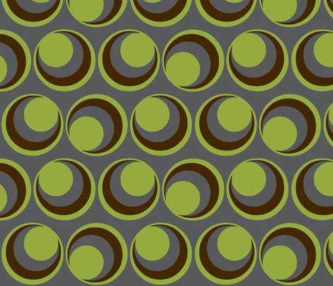 Urban green / motion fabric by paragonstudios on Spoonflower - custom fabric